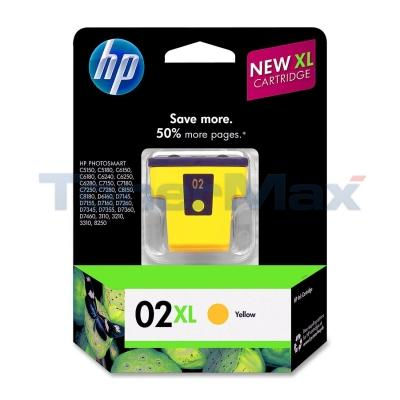 HP NO 02 XL INK YELLOW